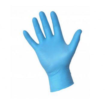 """Rękawice diagnostyczne nitrylowe bezpudrowe Rozmiar """"S"""" niebieskie (100szt) • Nowości"""