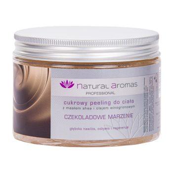 Natural Aromas Cukrowy Peeling Do Ciała Czekoladowe Marzenie 500 ml • SPA