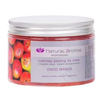 Natural Aromas Cukrowy Peeling Do Ciała Owoc Mango 500 ml • SPA
