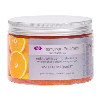 Natural Aromas Cukrowy Peeling Do Ciała Owoc Pomarańczy 500 ml • SPA