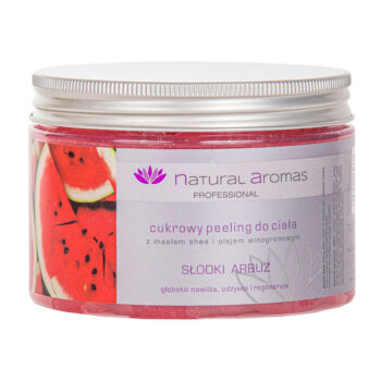 Natural Aromas Cukrowy Peeling Do Ciała Słodki Arbuz 500 ml • SPA