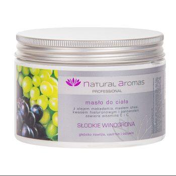 Natural Aromas Masło Do Ciała Słodkie Winogrona 500 ml • SPA