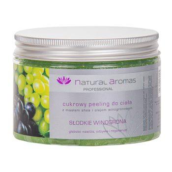 Natural Aromas Cukrowy Peeling Do Ciała Słodkie Winogrona 500 ml • SPA