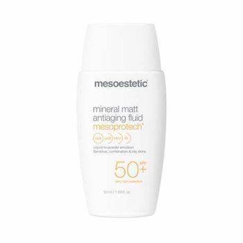 Mesoestetic Mesoprotech Mineral Matt Antiaging Fluid SPF 50+ (50ml) • Bez kategorii