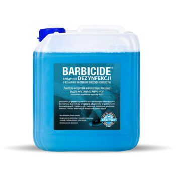 Barbicide Spray do dezynfekcji powierzchni – Uzupełnienie – kanister  (5000 ml) • Dezynfekcja