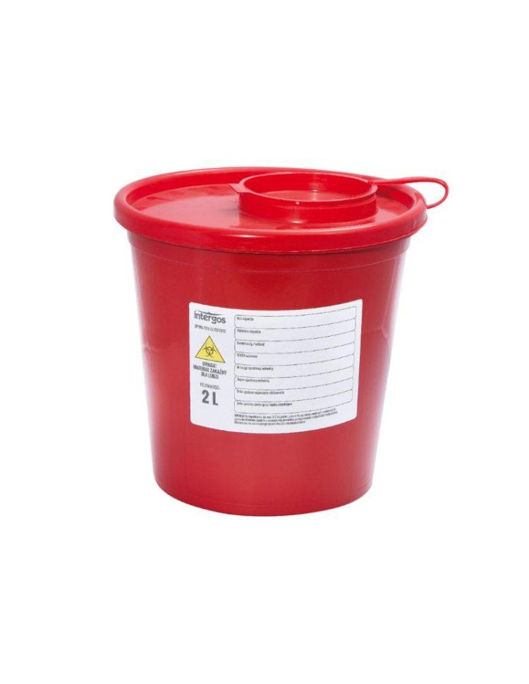 Pojemnik na odpady medyczne (2l) • Nowości